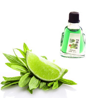 Wholesale Cool refreshing Mint essential oil Body Massage Lumbar Pain Relief Cervical Spondylosis Balm Plaster 3ml/bottle Essential Oil