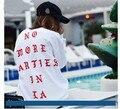 La Vida De Pablo Kanye West Yeezy La siento Como paul yeezys hoodie men clothing sudaderas no más fiestas en la sudaderas