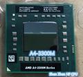 AMD A4-3300M Процессора 2 МБ/L2/1.9 Г Разъем FS1 PGA722 AM3300DDX23GX A4 3300 М 35 Вт Ноутбук ПРОЦЕССОР (работает 100% Бесплатная Доставка)