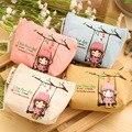 Mujeres Mini monedero bolsa de la cremallera pequeño monedero niños billetera Para los niños Monedas bolsos Para las niñas embrague Monederos párr Monedas lq007