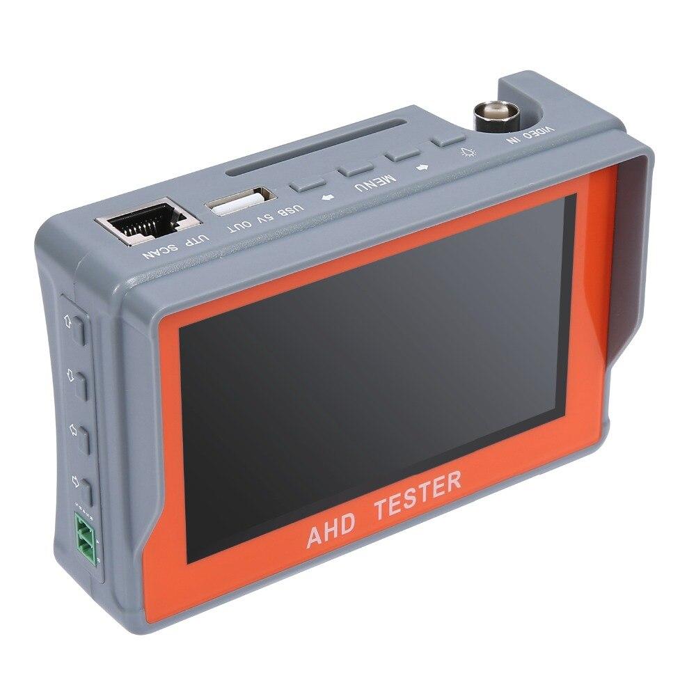ANNKE 4.3 pouces HD AHD CCTV testeur moniteur AHD 1080 P caméra analogique test PTZ UTP câble testeur 12V1A sortie - 4