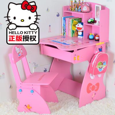 Mesa de estudo mesa e cadeira terno das crianças pode levantar, alunos do ensino fundamental terno mesa escrivaninha e cadeira estante