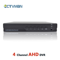 AHD DVR 4 Channel HD Analog 720P Realtime ONVIF Hybrid Cctv Dvr For AHD Analog Ip