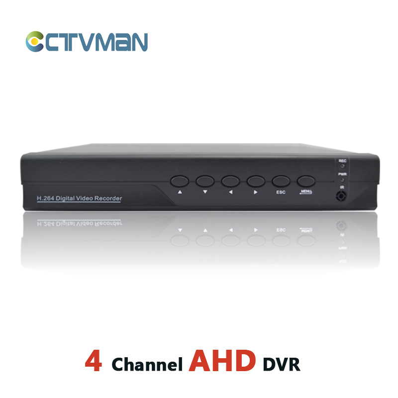 AHD DVR 4 channel HD analog 720P realtime ONVIF hybrid cctv dvr for AHD+ analog & ip camera network hdmi 4ch security recorder ahd dvr 4 channel cctv recorder 4ch hd camera dvr security hybrid hvr nvr for 720p ahd