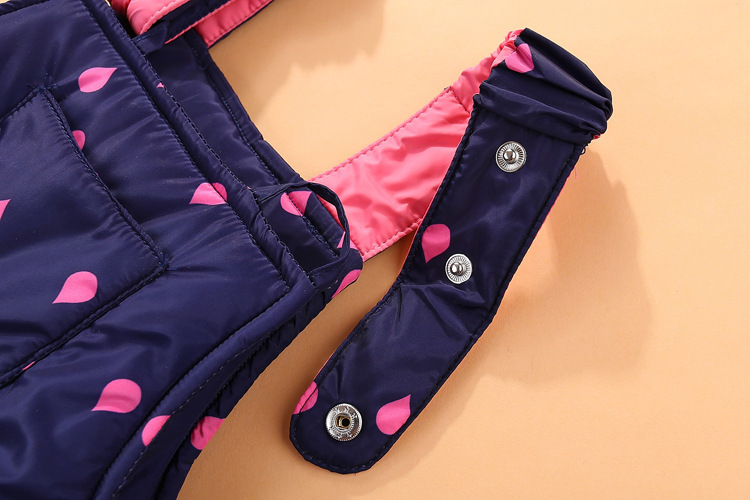 19 Children Down Clothing Sets 2 PCS Coat + Trousers Winter Kids clothes Down jacket Suits Boys & Girls Hooded Outerwear Suit 17
