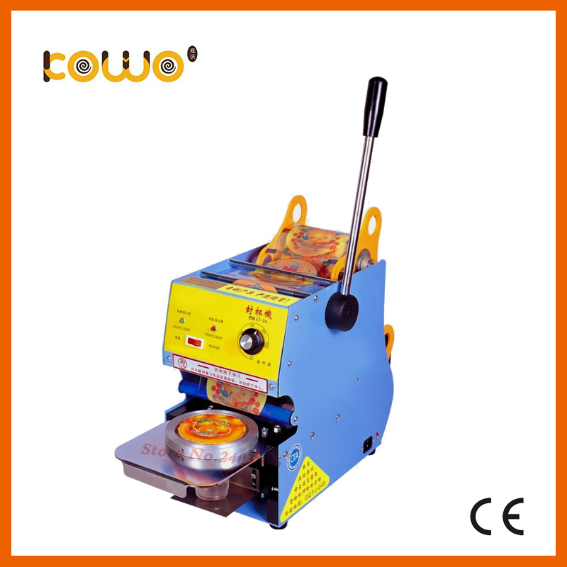 ce plastic manual cup sealing machine electric 300-500 cups/hour cup sealer bubble tea sealing machine food processors dmwd manual handle cups sealing machine hand electric drink sealer pressure lid sealing maker bubble milk tea shop closure cup