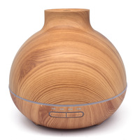 ALDX10 Yx 0170 Free Shipping Wood Grain With Flat Mouth Aromatherapy Humidifier