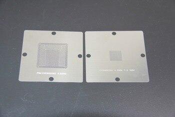 цена на Free shipping! New arrival! BGA Reballing Stencil 90x 90mm 80*80mm PS4 Stencil CXD90026G CXD90025G 0.55mm  10PCS/SET