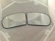 one pair  ( LH + RH )  Original Mercedes Benz C class W203 S203 /  E class W211 S211  heated wing MIRROR GLASS