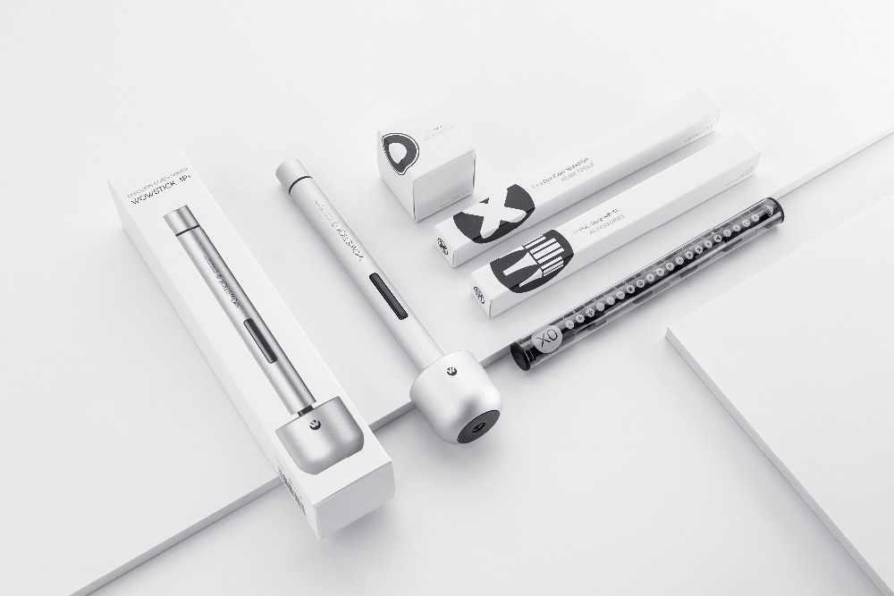 Оригинальный Xiao mi jia wowstick 1 P + pro 23 в 1 Электрический винт mi Driver Аккумуляторный силовой винт mi jia комплекты с держателем база