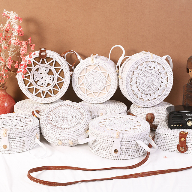 Handmade Woven Rattan Bags 2