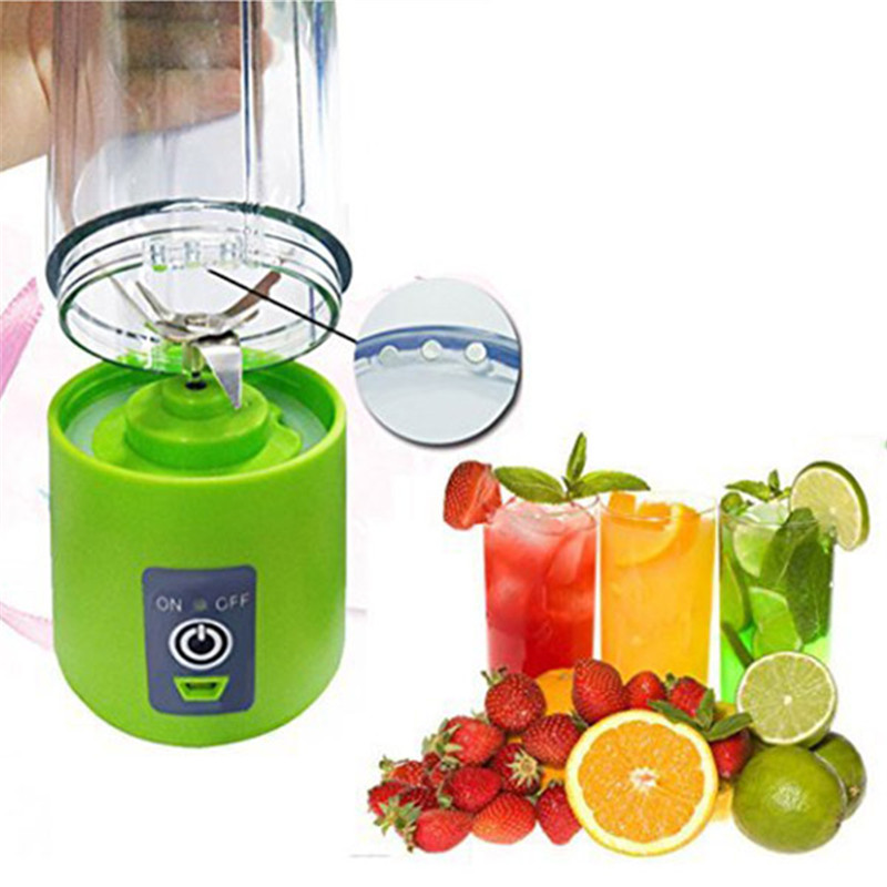 400ml Portable Personal Juice Blender And USB Juicer Cup With Multi-function For Smoothies And Baby Food 7