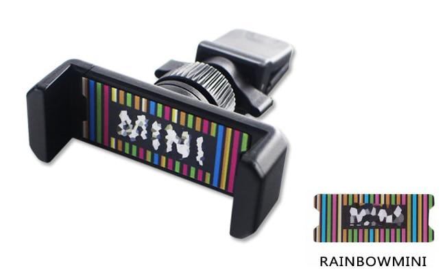 Универсальный держатель Gtinthebox для Mini Cooper, автомобильный держатель для телефона R50 R53 R55 R56 R60 R61 F54 F55 F56 F60 - Цвет: Зеленый