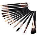 15pcs/Set Beauty Eye Make Up Brush Set Eyeliner Eyebrow Lip Brush Eye Shadow Foundation Makeup Brushes set Tools cosmetics Kits