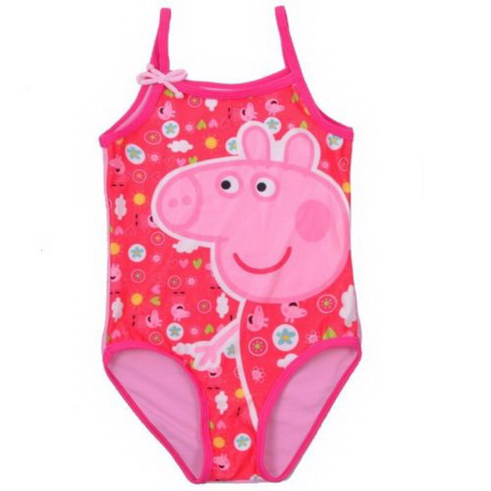 2017 Cute Baby Girls Swimwear One Piece Swim Dress Children Beachwear Swimsuit Bathing Suits Kids Infant Swimming Suit Holiday