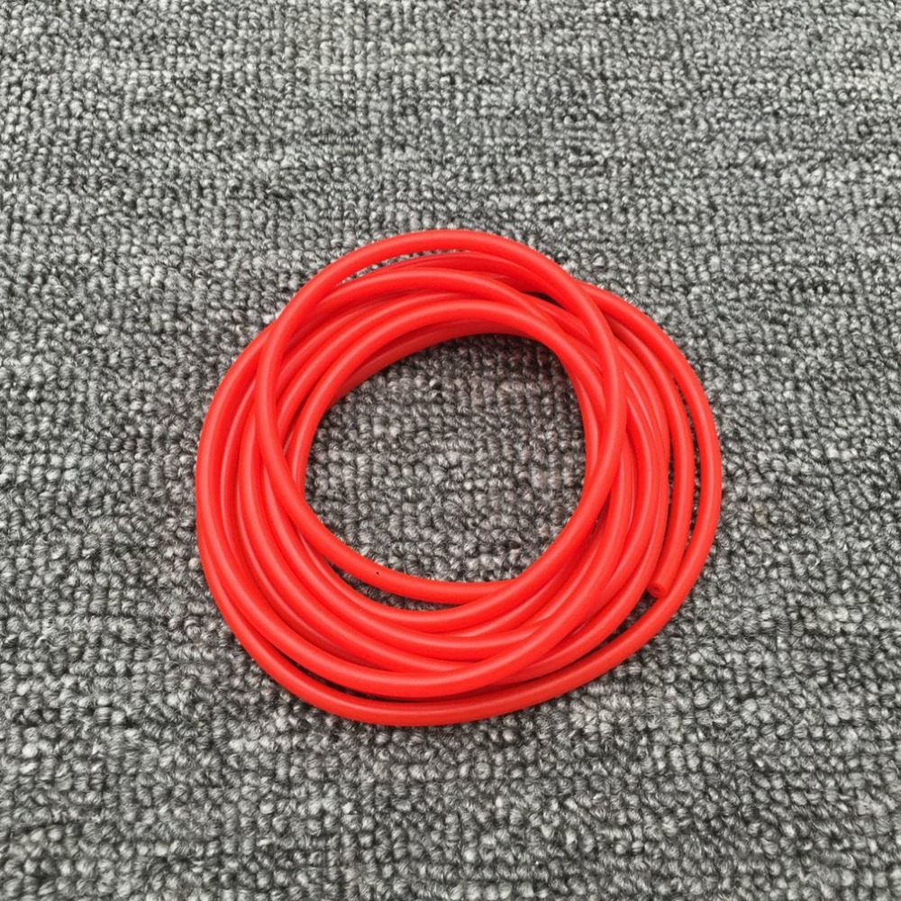 Natural Latex Slingshots Rubber Tube 1M For Outdoor Hunting Shooting High Elastic Tubing Band Tactical Catapult Bow Accessories