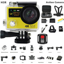 New Option Action Camera H3R Ultra 4K HD 2.0″+0.95 Dual Screen Action video Camera Waterproof 170D Lens gopro Style sport camera
