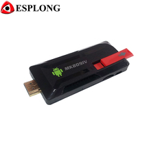 New MK809IV Mini PC Android TV Box Quad Core RK3188 2G/8G Smart TV Stick XBMC Bluetooth DLNA WiFi android tv dongle airplay
