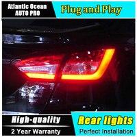 JGRT Taillights For Focus 3 2012 2014 LED Rear Lamps For Focus Fog Lights Trunk Lamp