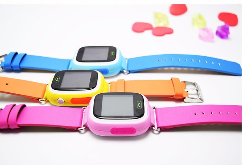 Детские GPS часы с трекером Q80