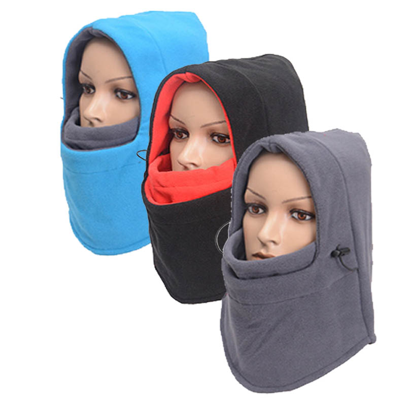 Solid Warm Balaclava For Women Men Therm