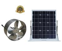 25W Solar Powered Attic Ventilator / solar fan With 29W Mono Panel