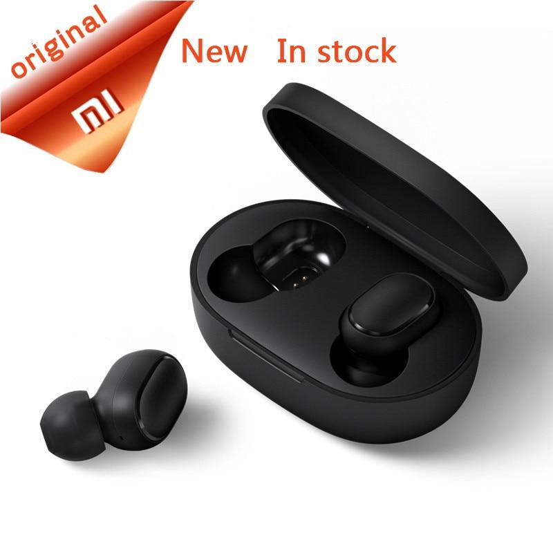 IN STOCK Original Xiaomi Redmi AirDots True Wireless bluetooth 5.0 Earphones DSP Active Noise Cancellation mijia mi Headphones