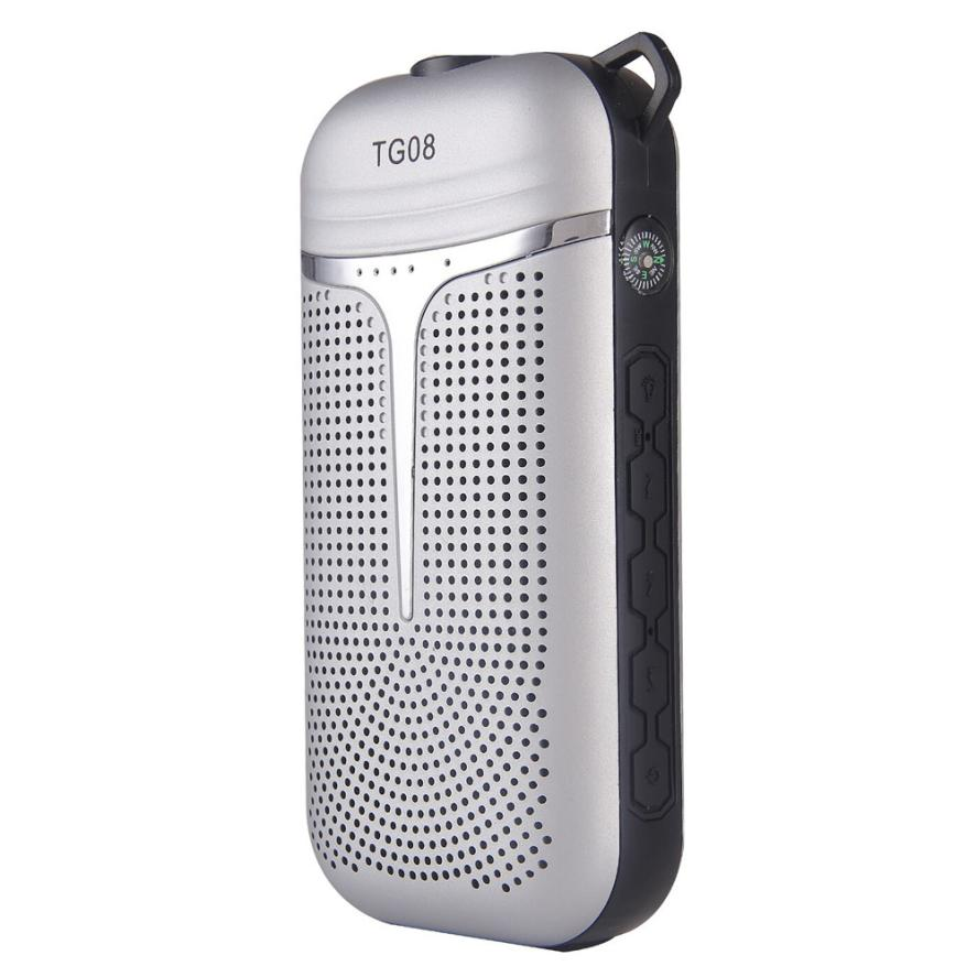 HL2017Bluetooth perfect sound Humanized designTG08 Multi-Function High Fidelity 4000 mAH Power bank/ BT speaker  E22