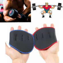 1 Pair Unisex Weight Lifting Training Gloves Women Men Fitness Sports Body Build