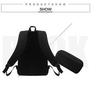 Image 4 - Çocuk okul sırt çantası Kalem Kutusu Ile At Baskı Okul Çantaları Erkek Kız Öğrenci Okul Çantası + Kalem Çantası Öğrenme kombinasyonu