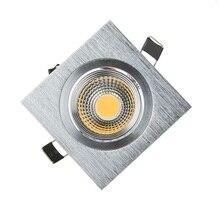 С фабрики! 3 Вт 5 Вт 7 Вт COB светодиодный потолочный Точечный светильник Встраиваемый светодиодный COB светильник 110 В 220 В DHL 100 шт./лот