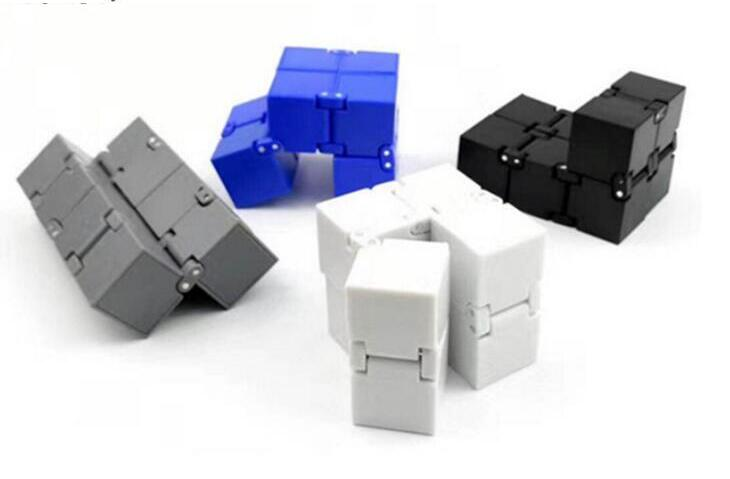 2019 New Trend Creative Infinite Cube Infinity Cube Magic Cube Office Flip Cubic Puzzle Stop Stress Reliever Autism Toys