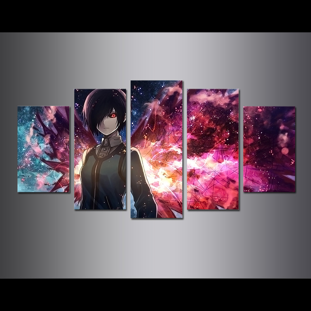 Unframed Canvas Painting Sword Art Online Poster Giclee Modular Picture Prints Pictures For Living Room Wall Art Decoration