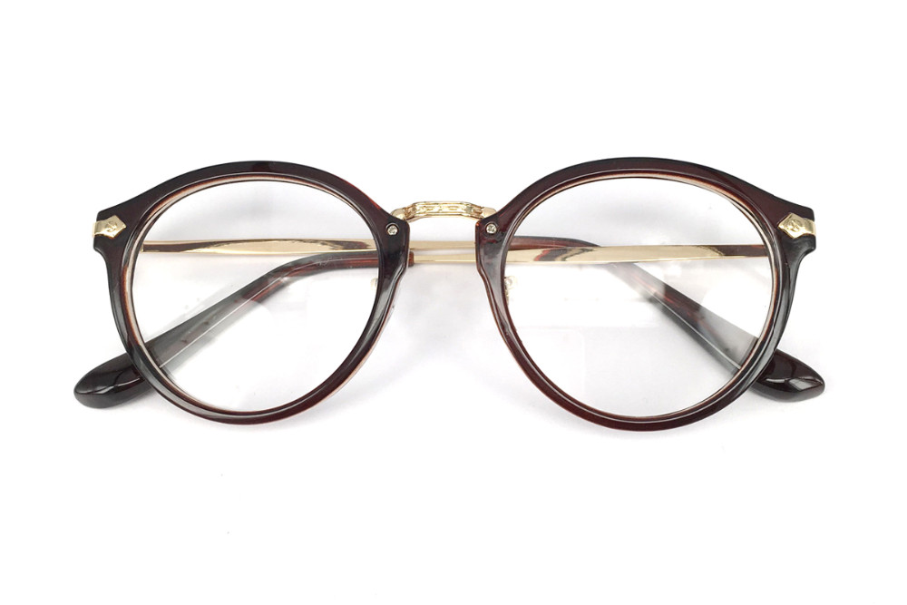√Moda ojo Gafas Marcos mujeres lente transparente nerd Gafas ...