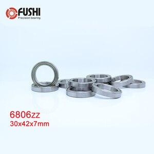 Image 1 - 6806ZZ Bearing ABEC 1 (10PCS) 30x42x7 mm Thin Section 6806 ZZ Ball Bearings 61806 Z 6806Z