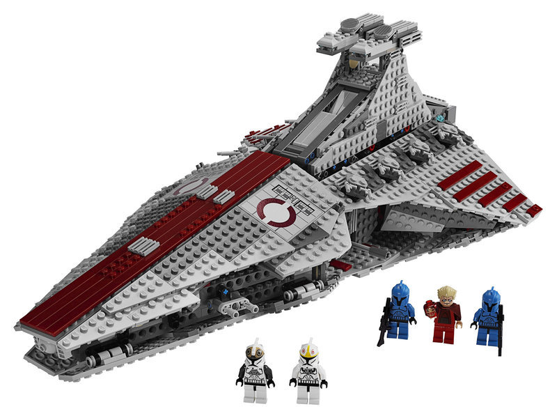 05042 Venator Class Republic Attack Cruiser Model Building Kit Block Bricks 1200Pcs Compatible Legoings Star Wars