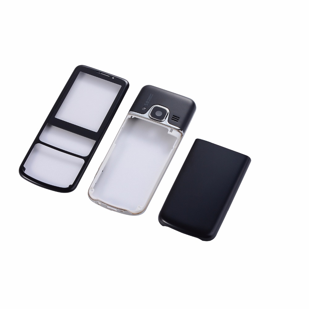 For <font><b>Nokia</b></font> <font><b>6700</b></font> 6700C <font><b>Housing</b></font> Metal Case Front+Middle Frame+Battery Back cover(Without Keypad) image