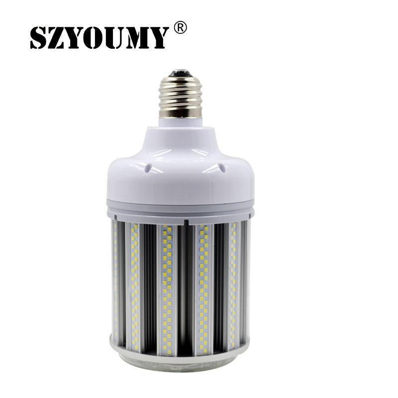 Супер яркий SMD 2835 80 Вт 100 Вт 120 Вт 150 Вт E40 светодиодный светильник для сада на складе кукурузная лампа светодиодный уличный светильник AC85 265V