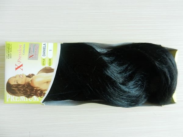 synthetic hair braid weft extension braiding daniela 1# 5packs - Yiwu Shengbang Hair store