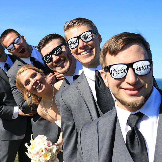 Wedding Glasses Set 14 Pcs