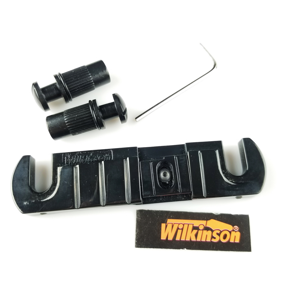 Купить с кэшбэком Wilkinson Bridge GTB Wraparound LP electric Guitar Bridge Tailpiece Three colors