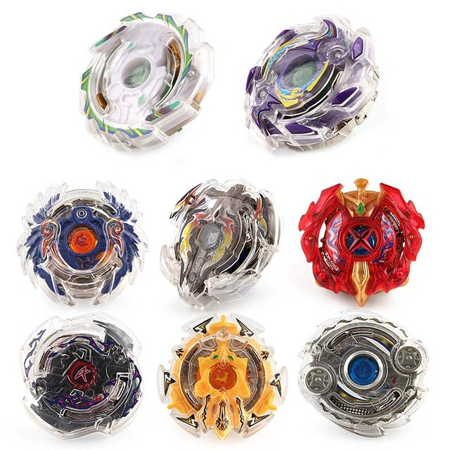 Beyblade With Launcher Metal Fusion 4D Fighting Gyro 3053 Spinning Top Christmas Gift Puzzle Toys For Kids #E
