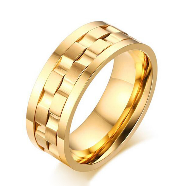 2016 New Wedding Ring Quality Titanium Jewelry For Men And Women