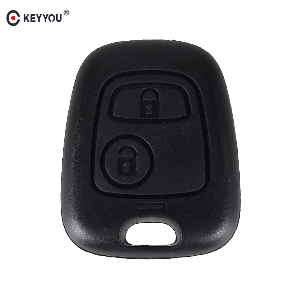 KEYYOU Remote Key Car Key Blade Fob Case Replacement Shell Cover For Citroen C1 C4 for Peugeot 107 207 307 407 206 306 406 hot sale suitcase cheap electric guitar suitcase cheap price