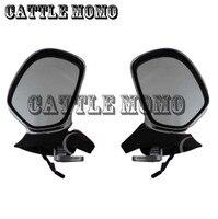 Мотоцикл зеркала с световые сигналы Зеркало заднего вида мотоцикл зеркало заднего вида для Honda Goldwing GL1800 2001 2002 03 2012