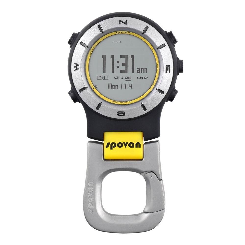 Spovan 3ATM étanche multifonction Sports de plein air montre de poche baromètre altimètre thermomètre boussole chronomètre