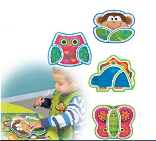 Sozzy Melamine Baby Fedding Dinner Plates Bowl Security Children\u0027s Meals Dishes Cutlery Tray Plates Food Container  sc 1 st  AliExpress.com & Sozzy Melamine Baby Fedding Dinner Plates Bowl Security Children\u0027s ...
