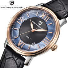 Pagani design Fashion simple stylish Top Luxury brand Watches women leather strap band Quartz-watch thin Dial Clock women