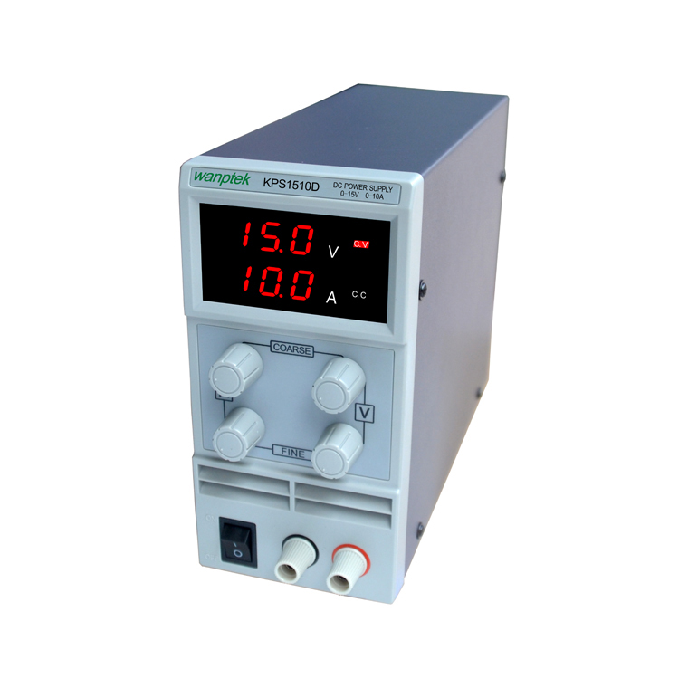 ФОТО Wholesale KPS1510D 15V 10A digital adjustable Mini DC Power Supply Switch DC power supply 110/220V 0.1V 0.01A