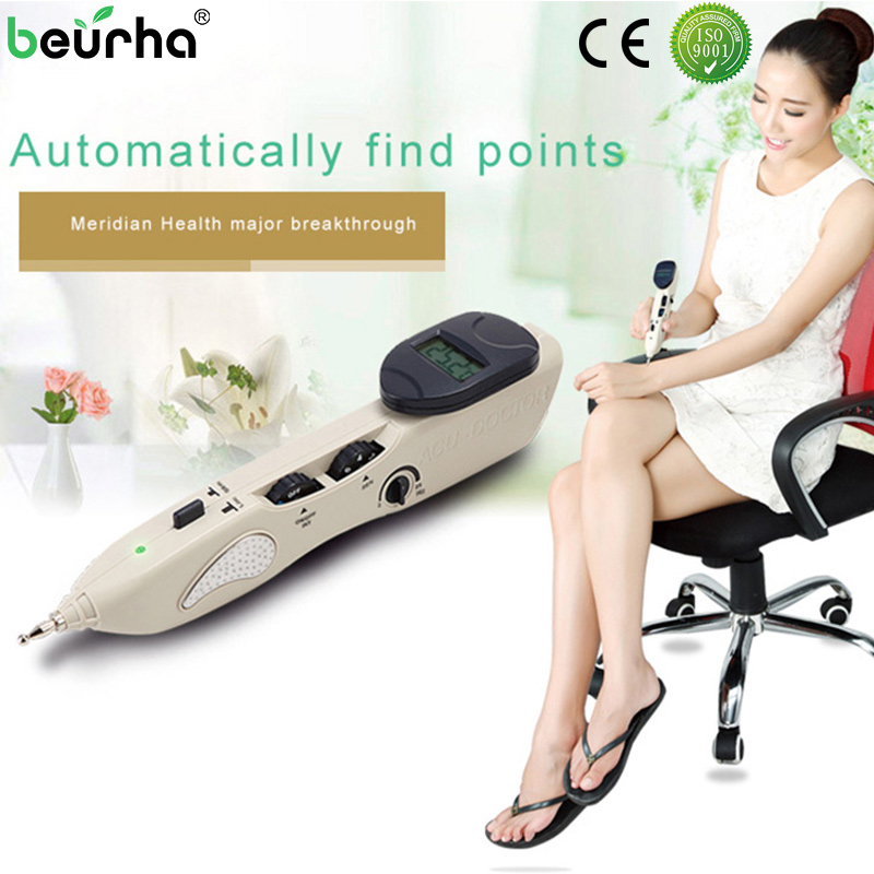 Laser Acupuncture Pen Meridian Energy Pen Pain Relief Acupuncture Point Detector Device Acupunctura Massage Pen Health Products pig acupuncture model animal acupuncture model